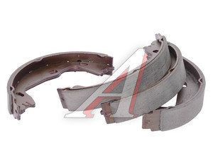 Колодки тормозные OPEL Astra F,Omega B (160х25) стояночного тормоза (4шт.) TRW GS8223, 1605938