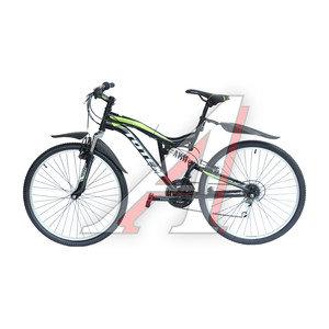 """Велосипед 26"""" 21-ск. двухподвесный черный DRAGON 4.0 TOTEM T15B113 B, T15B113,"""
