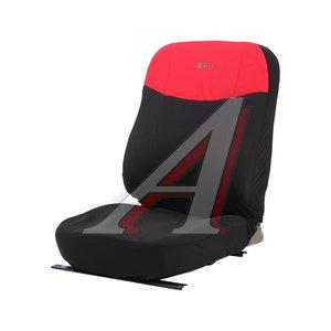 Авточехлы универсальные (L) полиэстер черно-красные (AIRBAG 8 предм.) Element PSV 126240, 126240 PSV