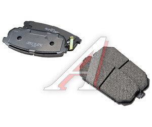 Колодки тормозные KIA Carens (06-) задние (4шт.) SANGSIN SP1197, GDB3462, 58302-1DE00