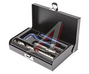 Набор инструментов для восстановления резьбы (вставки М12х1.25, L=16.3мм, 10шт.) 14 предметов JTC JTC-4785