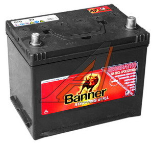 Аккумулятор BANNER Starting Bull 70А/ч обратная полярность 6СТ70 570 29, 83452,