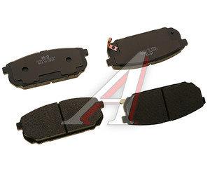 Колодки тормозные KIA Sorento (02-) задние (4шт.) SANGSIN SP1154, GDB3344, 58302-3ED01