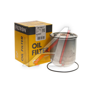 Фильтр масляный RENAULT Magnum,Premium центрифуга (втулки 10мм, 13мм) FILTRON OR745/1, OZ3D, 5010437356/5010412645/5001858001/5010437143