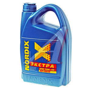 Масло моторное ЭКСТРА п/синт.4л NORDIX NORDIX SAE10W40