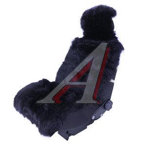 Накидка на сиденье мех натуральный (овчина) черная 1шт. с карманом Jolly Extra PSV 121746, 121746 PSV