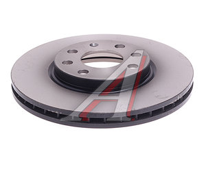 Диск тормозной OPEL Corsa B (99-02) передний (1шт.) TRW DF4165, 0569000