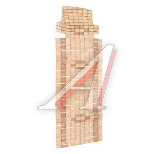 Накидка на сиденье массажная бамбук бежевая Накидка бамбук 44178