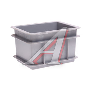 Ящик полимерный многооборотный 200х150х120мм серый IPLAST IP-378727, 12.301.91