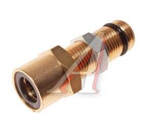 Соединитель трубки ПВХ,полиамид d=12мм (наружная резьба) М16х1.5 прямой латунь CAMOZZI 9590 12-M16X1.5-S01