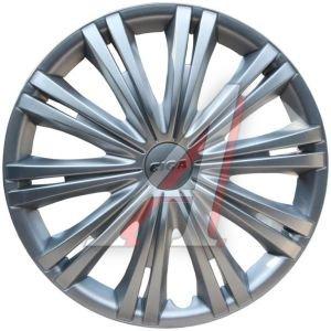 Колпак колеса R-14 декоративный серый комплект 4шт.ГИГА ГИГА R-14