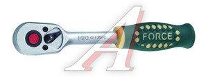 "Ключ трещотка 1/2"" 36 зубьев 240мм FORCE F-802415"