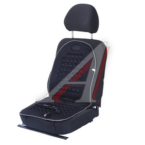 Накидка на сиденье с подогревом и регулятором черная SIGMA 36561