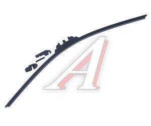 Щетка стеклоочистителя 530мм беcкаркасная (крепление крючок) Super Flat Graphit ALCA AL-051, 051000