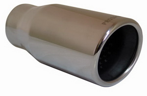Насадка на глушитель вход. d=58, вых. d=76 (L=178мм) скошенная PRO SPORT RS-01620,