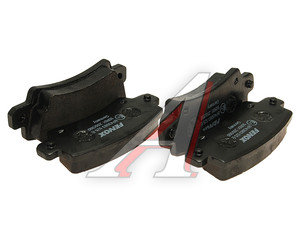 Колодки тормозные TOYOTA Corolla (02-) задние (4шт.) FENOX BP43083, GDB3289,