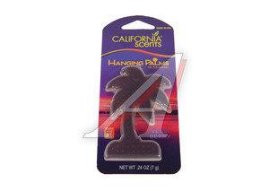 Ароматизатор подвесной пластина (ягодный микс) Hanging Palms 40г CALIFORNIA SCENTS 091400026035