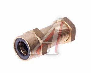Соединитель трубки ПВХ,полиамид d=12мм-8мм (наружная резьба) М18х1.5 прямой латунь CAMOZZI 9592 12-8-M18X1,