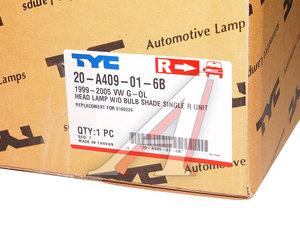 Фара VW Pointer (99-) правая TYC 20-A409-01-6B, 441-11A1R-LD-E, 377941044J