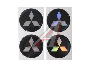 "Эмблема диска колесного ""MITSUBISHI"" (6см) комплект 4шт. 02150"