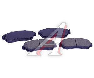 Колодки тормозные HONDA CR-V (07-12) передние (4шт.) SANGSIN SP2115, GDB7738YO,