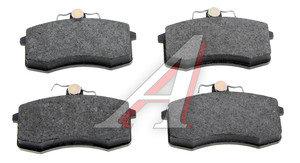 Колодки тормозные ВАЗ-2108 передние (4шт.) FERODO TARGET TAR527A, 2108-3501080