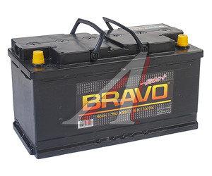 Аккумулятор BRAVO 90А/ч обратная полярность 6СТ90