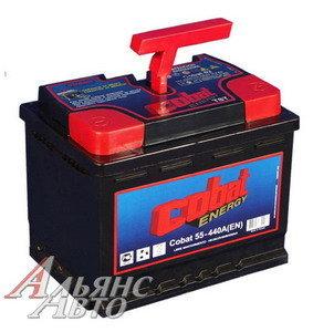 Аккумулятор COBAT 55А/ч 6СТ55, 82494