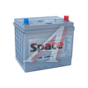 Аккумулятор SPACE VLA 70А/ч обратная полярность 6СТ70 90D23L, 90D23L