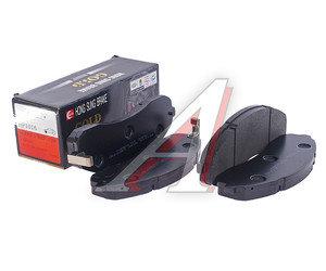 Колодки тормозные KIA K3600 передние (4шт.) HSB HP1016, 0K40D-3328Z