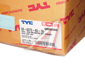 Фара MITSUBISHI Montero Sport (00-) правая TYC 20-6373-A5-1A, 314-1131R-1, MR566768