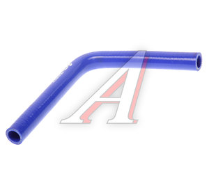 Патрубок ГАЗ-3302 ЕВРО-3 отопителя синий силикон 3302-8120038-20