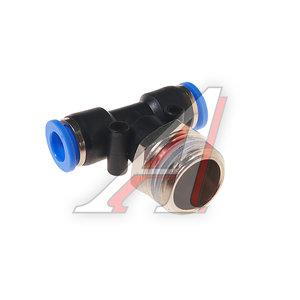 """Фитинг для пластиковых трубок 1/2"""" Т-образный 8мм с наружной резьбой ROCK FORCE RF-SPB08-04"""