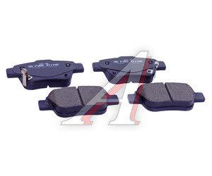 Колодки тормозные TOYOTA Avensis,Corolla (03-) задние (4шт.) SANGSIN SP2184, GDB3337