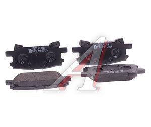 Колодки тормозные LEXUS Rx300 (03-) задние (4шт.) HSB HP5165, GDB3339, 04466-48060