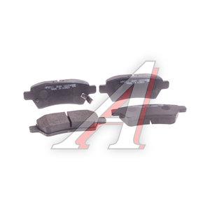 Колодки тормозные NISSAN Pathfinder R51 (05-) задние (4шт.) HSB HP5211, GDB3405, 44060-EB325