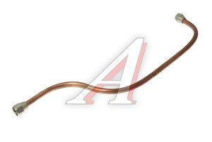 Трубка тормозная УРАЛ к пневмоусилителю 3-я в сборе L=680мм/d=14мм медь (ОАО АЗ УРАЛ) 4320-3506160