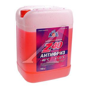 Антифриз красный -40С 10л Antifreeze Z40 AGA AGA003Z