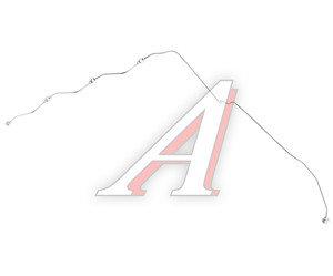 Трубка топливная КАМАЗ-ЕВРО-3 дренажная форсунок правая (ОАО КАМАЗ) 740.60-1104370