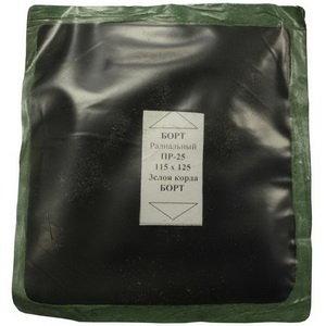 Заплатка для боковых порезов (115х125мм) 3 слоя радиальная БХЗ ПР-25