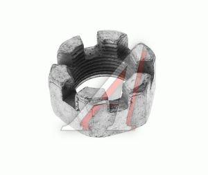Гайка М22х1.5х19.8 ГАЗ-3307 корончатая рычага кулака поворотного ЭТНА 251016-П29, 251016