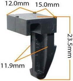 Пистон обивки универсальный KJ-477 MASUMA KJ-477,