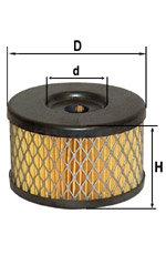 Элемент фильтрующий ГАЗ,КАМАЗ,УАЗ ГУРа DIFA 4310-3407359, 5310, 4310-3407359-10