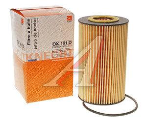Фильтр масляный MERCEDES Atego,Vario MAHLE OX161D, A9061800109