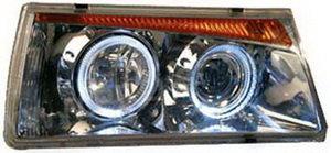 Фара блок ВАЗ-2108 PRO SPORT стиль,хром BMW5 комплект RS-01235, 2108-3711010