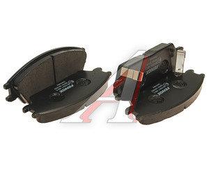 Колодки тормозные HYUNDAI Accent (99-),Getz,Coupe передние (4шт.) FENOX BP43017, GDB3331, 58101-25A10