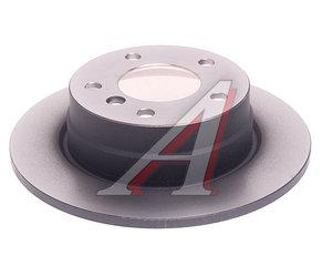 Диск тормозной BMW 1 (E81,E87) задний (1шт.) TRW DF4448, 34216855001
