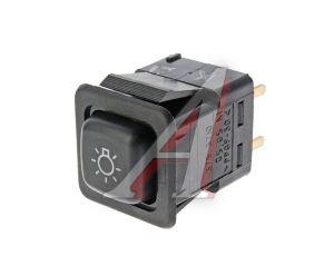 Выключатель кнопка ВАЗ-08,М-41 наружного освещения АВАР 375.3710-05.05 12V, 375.3710-05.05М