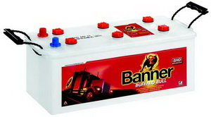 Аккумулятор BANNER Buffalo Bull SHD 135А/ч 6СТ135 635 44, 635 44