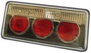 Фонарь задний ВАЗ-2107 PRO SPORT тонированный черный комплект RS-03316, 2107-3716010
